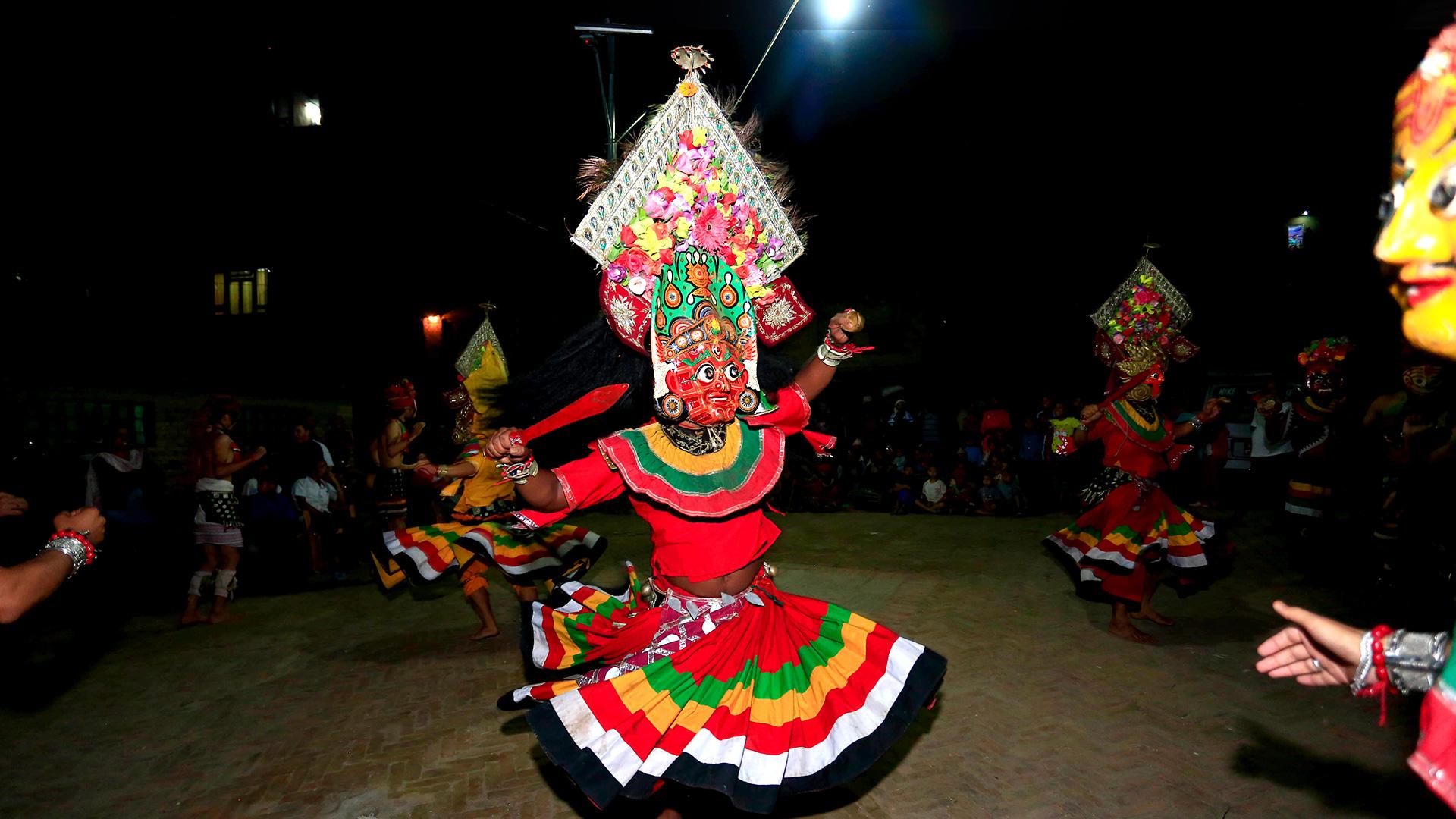 A Princess' Deadly Curse: Myths of the Bisket Jatra Festival image